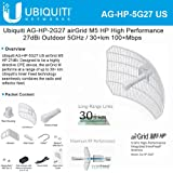Ubiquiti AirGrid M AG-HP-5G27 5 GHz 27dBi CPE Antenna