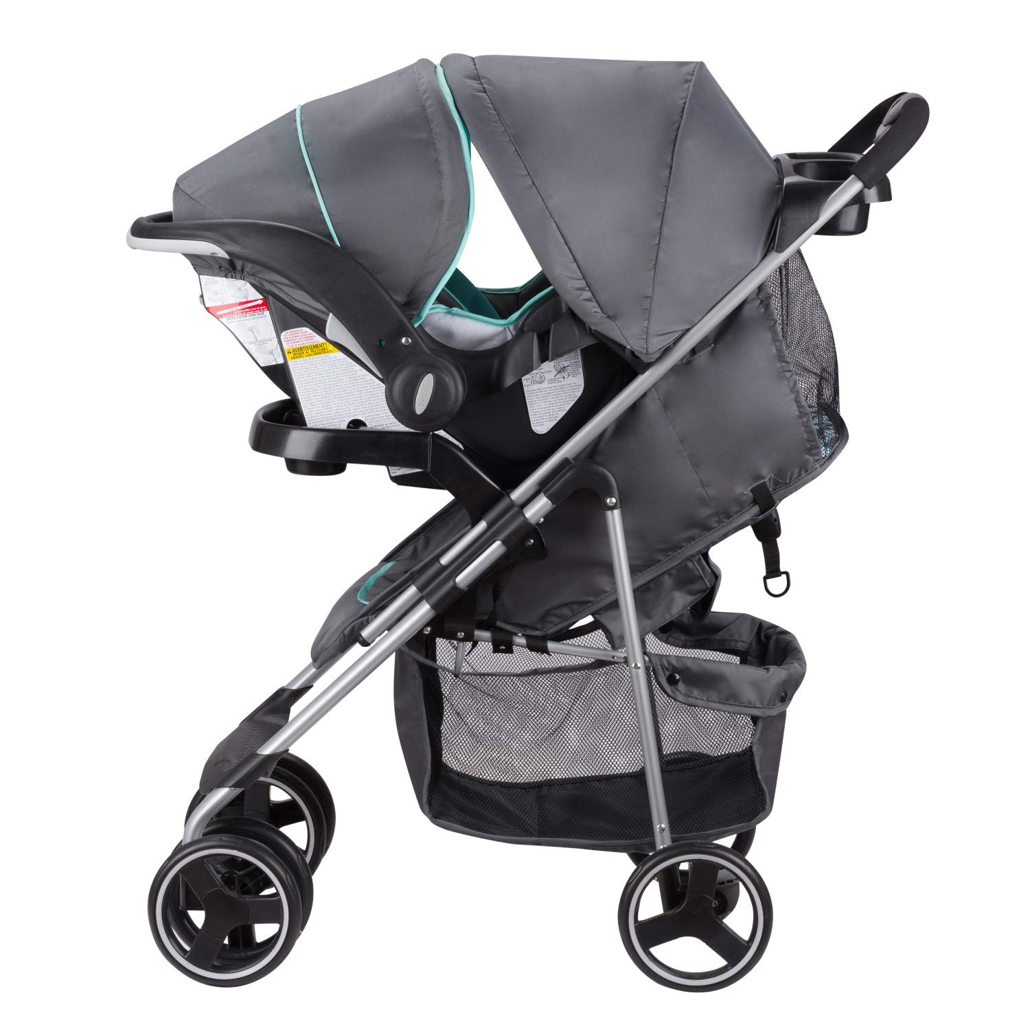 Evenflo Vive Travel System with Embrace Infant Car Seat, Spearmint Spree by Evenflo (Image #18)