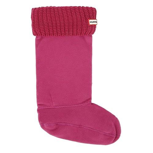 Hunter Rosa Original Half Cardigan Boot calcetines-Large: Amazon.es: Zapatos y complementos