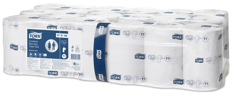 SCA Tork 472199 Sleeveless Midi Toilet Paper (Pack of 36)