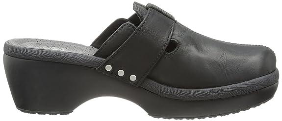 Crocs Women's 15513 CB Mule, Black/Black, 4 M US: Amazon.co.uk: Shoes & Bags