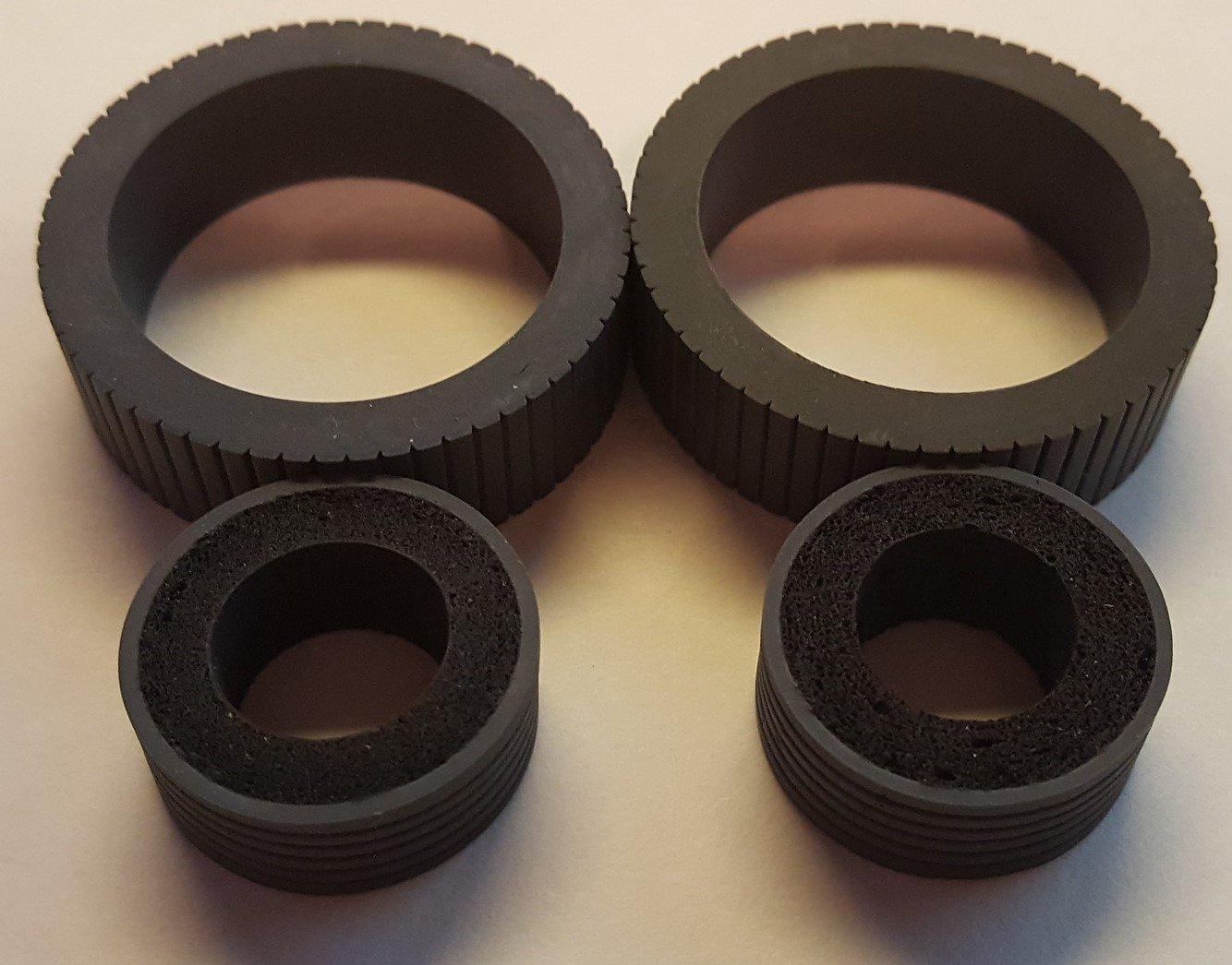 Fujitsu Scanner Brake and Pick Roller Tire Set Fi-7160 Fi-7180 Fi-7260 Fi-7280
