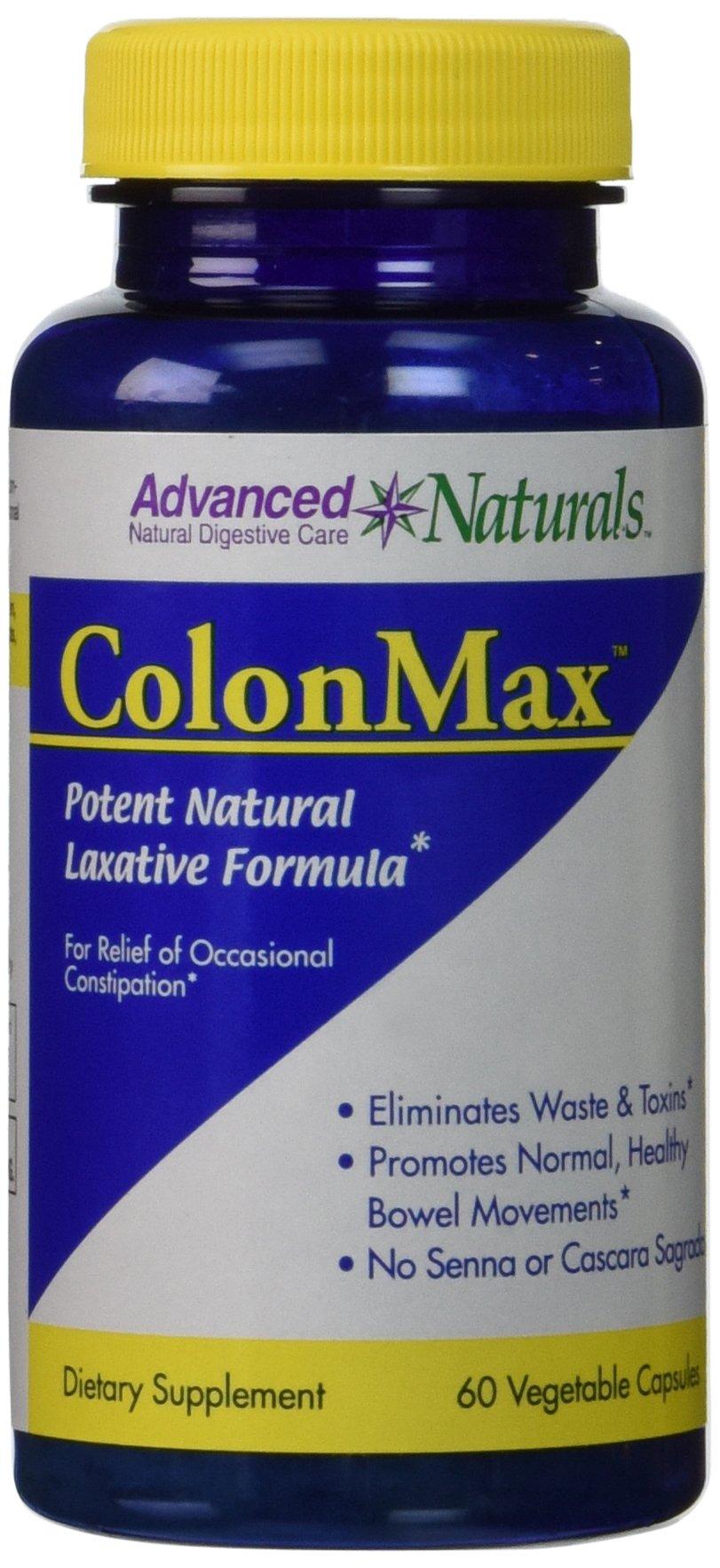 Advanced Naturals Colonmax Caps, 60 Count