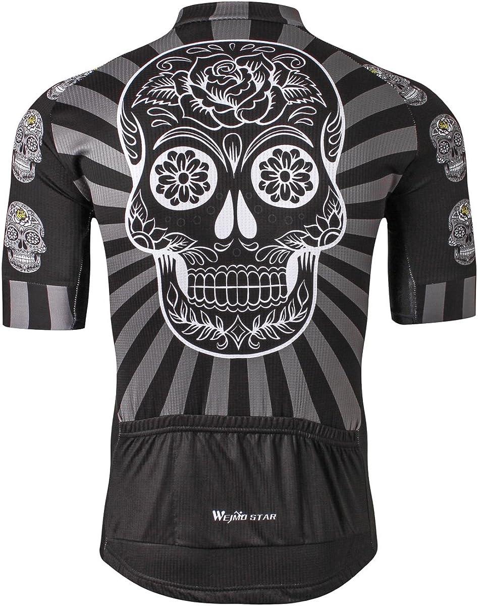 JPOJPO secado r/ápido manga corta transpirable Camiseta de ciclismo para hombre
