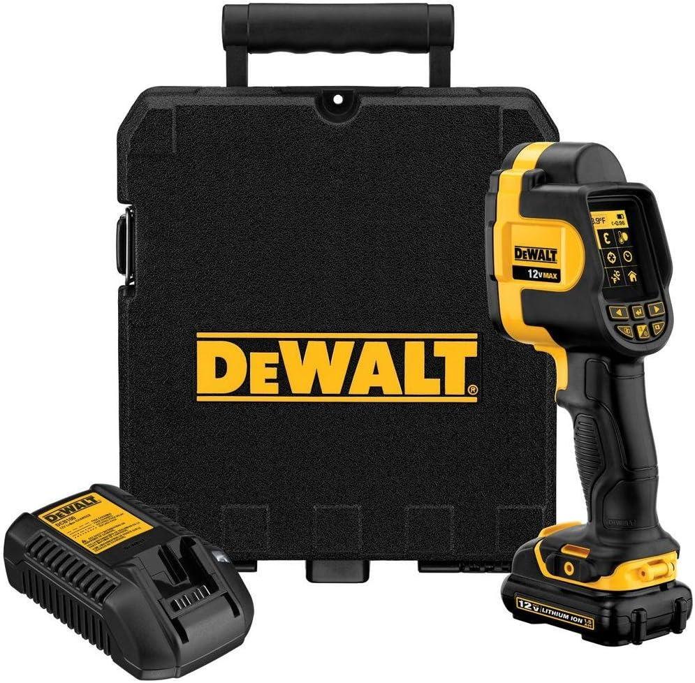 DEWALT DCT416S1R 12-Volt Max Imaging Thermometer Kit (Renewed)