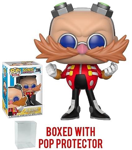 51644e75483 Image Unavailable. Image not available for. Color  Funko Pop! Games  Sonic  The Hedgehog - Dr. Eggman Vinyl Figure (Bundled