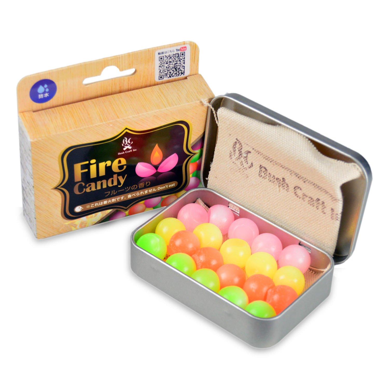 Bush Craft(ブッシュクラフト) ファイヤーキャンディ (Fire Candy)20粒入り