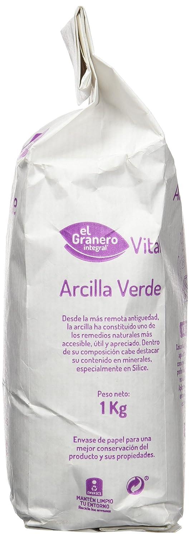 El Granero Integral - Arcilla Verde El Granero Integral 1kg: Amazon.es: Alimentación y bebidas