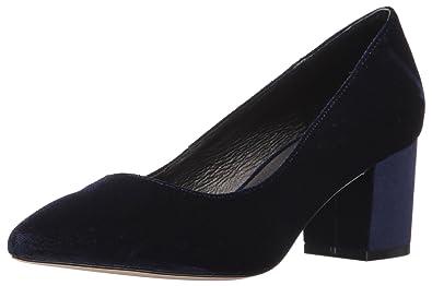 STEVEN by Steve Madden Womens Bambu Pointed Toe Classic Black Velvet Size 8.0