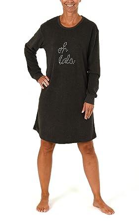 Normann Damen-Nachthemd Frottee