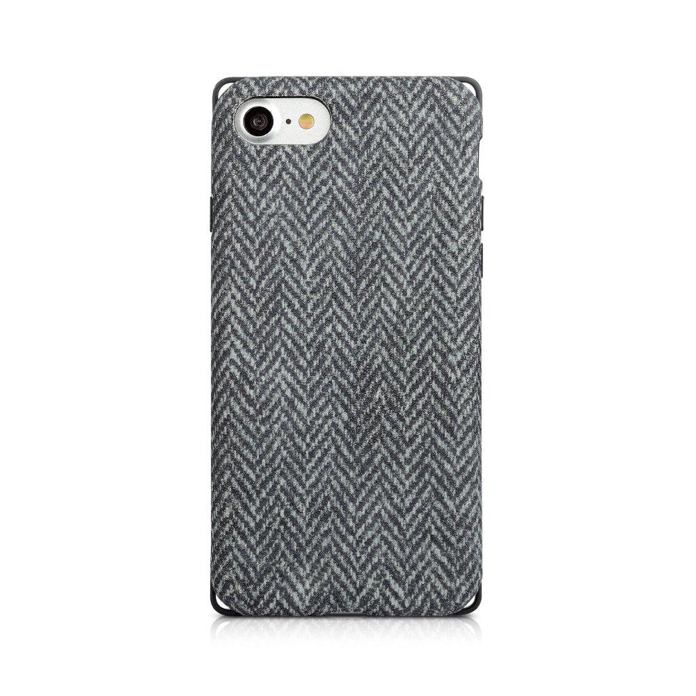 Simplism iPhone 7 [Fablex] 衝撃吸収ファブリックケース ツイード TR-FBIP164-CTW