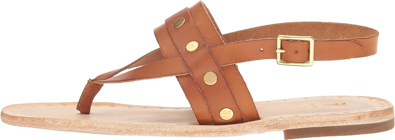 FRYE Womens Avery Stud Thong Flat Sandal
