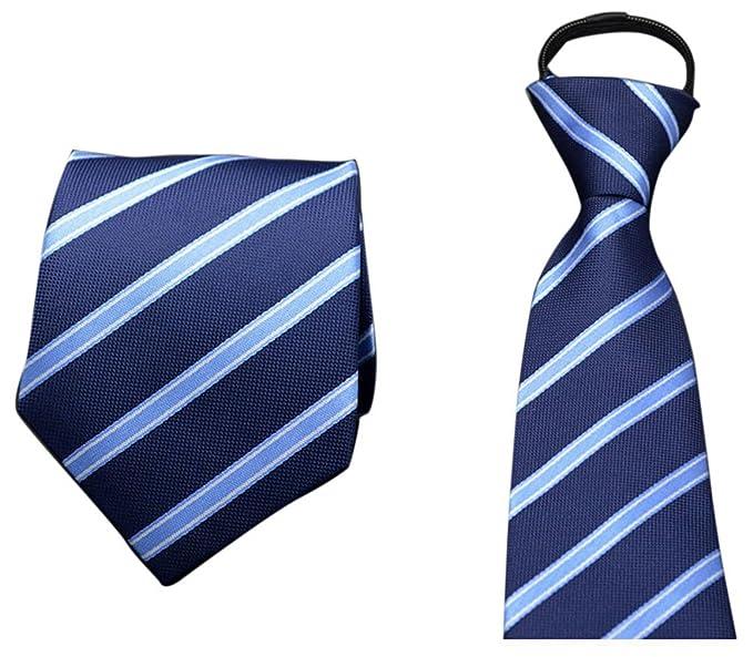 V-SOL Corbata Para Traje de Hombre Clásico Color A: Amazon.es ...