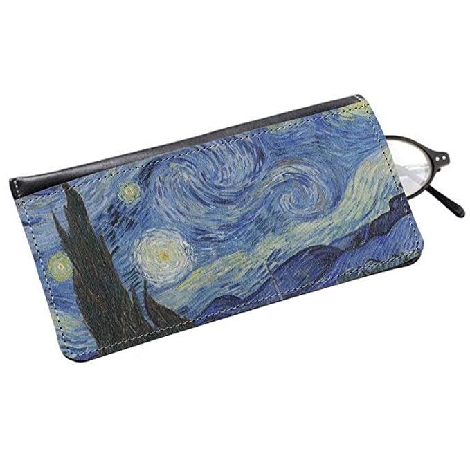 Amazon.com: The Starry Night (Van Gogh 1889) - Funda de piel ...
