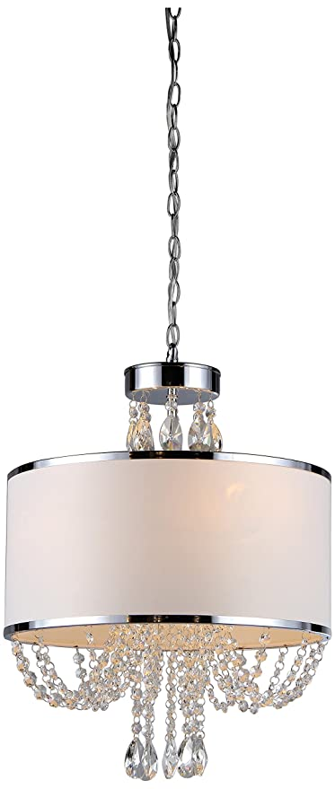Whse Of Tiffany Rl7938 4 Hera Shaded Crystal Detailed Light
