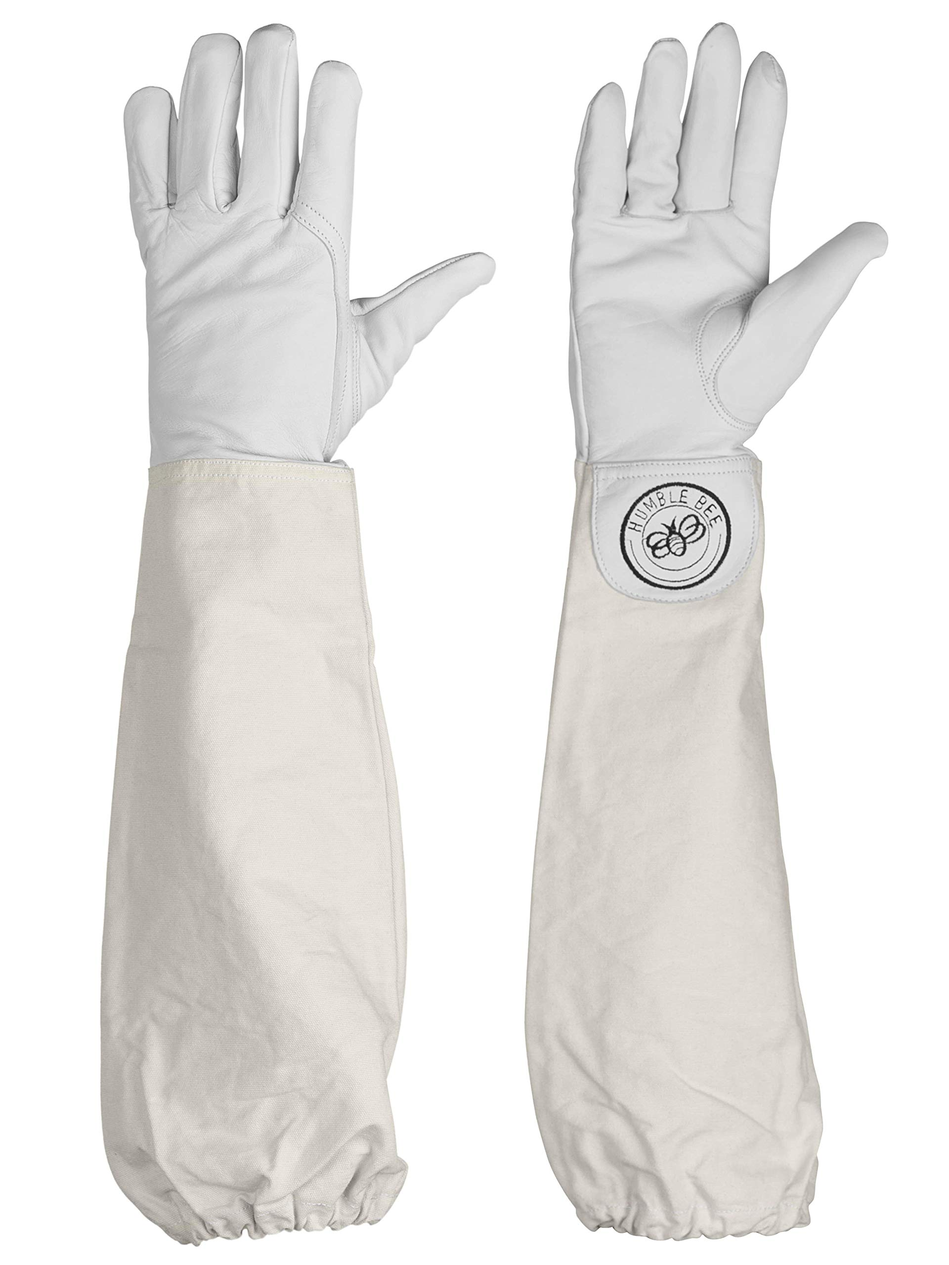 Humble Bee 110 Goatskin Beekeeping Gloves with Extended Sleeves by Humble Bee