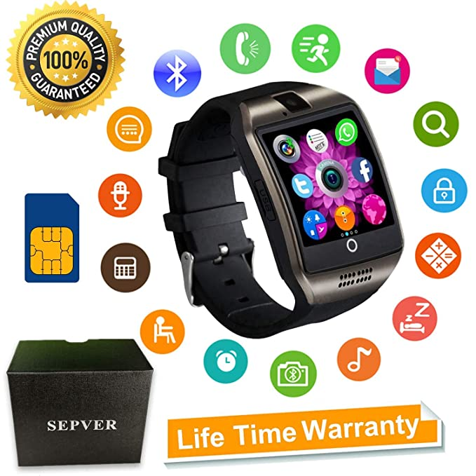 SEPVER Smart Watch SN06 Smartwatch with Touch Screen Camera SIM Card Slot Sport Watch Pedometer Fitness Tracker Smart Watches for Samsung Xiaomi ...