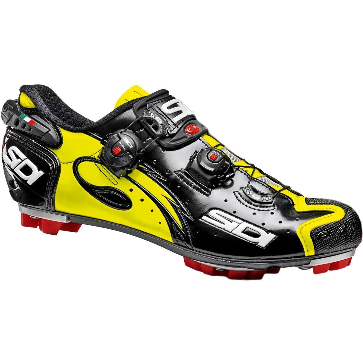 Kaos Road Bike Bicycle Cycling Shoes Yellow Fluo-Black SIDI