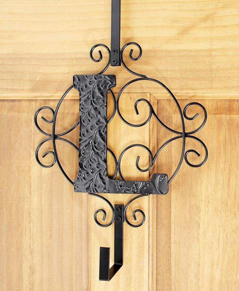 Monogram Wreath Hanger, L by LTD