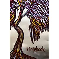 Notebook: Weeping Willow Celtic Tree Homework Book Notepad Notebook Composition and Journal Gratitude Diary Gift
