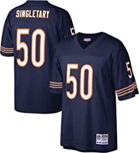 Mitchell & Ness Chicago Bears Mike Singletary 1985 Navy Throwback Replica Jersey