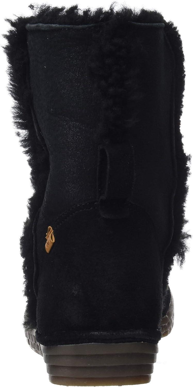 El Naturalista N5054 Doble Faz-Lux Suede Black//Rice Field Botas Slouch para Mujer