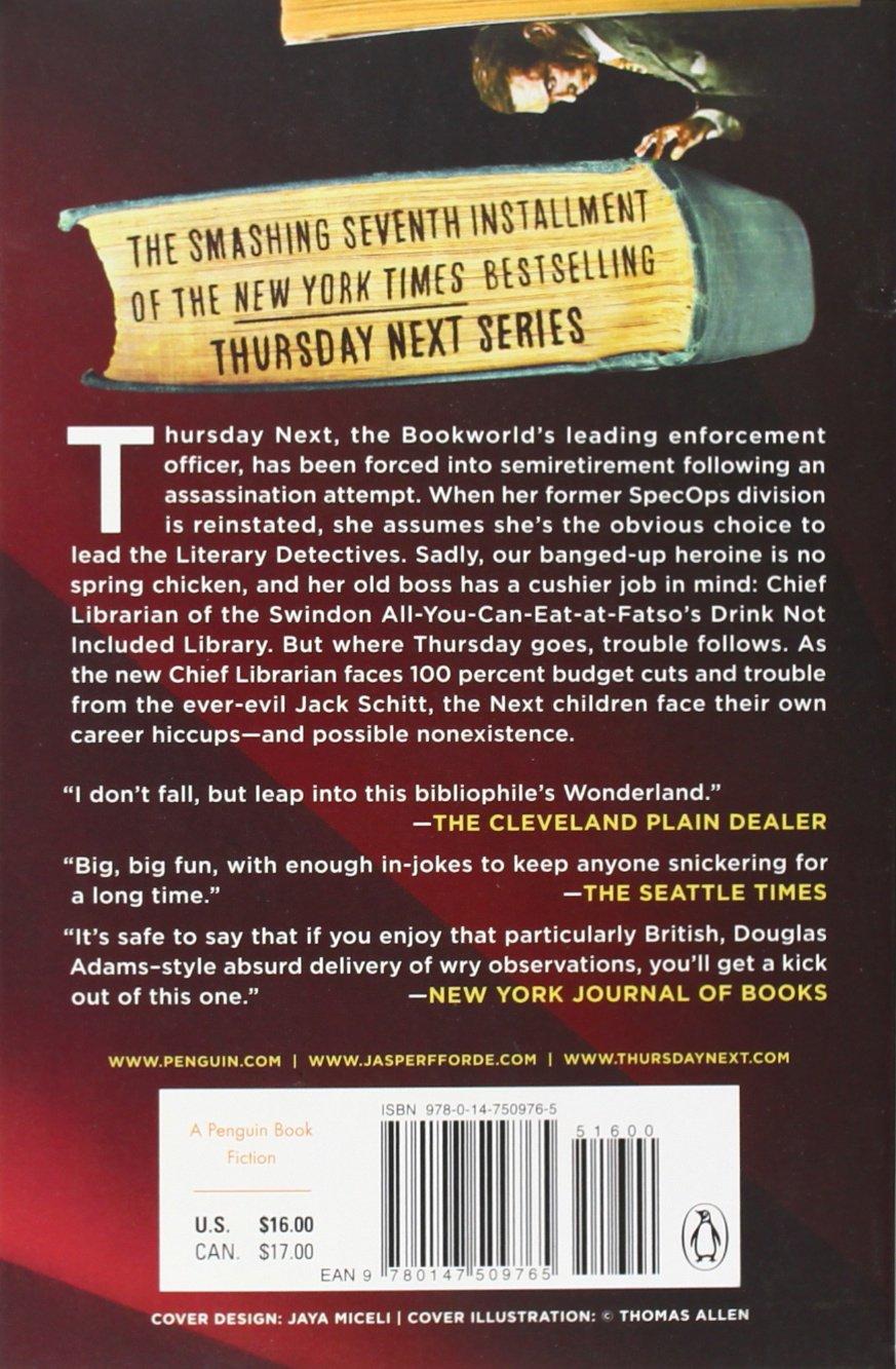 The Woman Who Died A Lot: A Thursday Next Novel: Jasper Fforde:  9780147509765: Amazon: Books