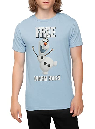 0dd0e343 Amazon.com: Disney Frozen Olaf Free Warm Hugs T-Shirt: Clothing