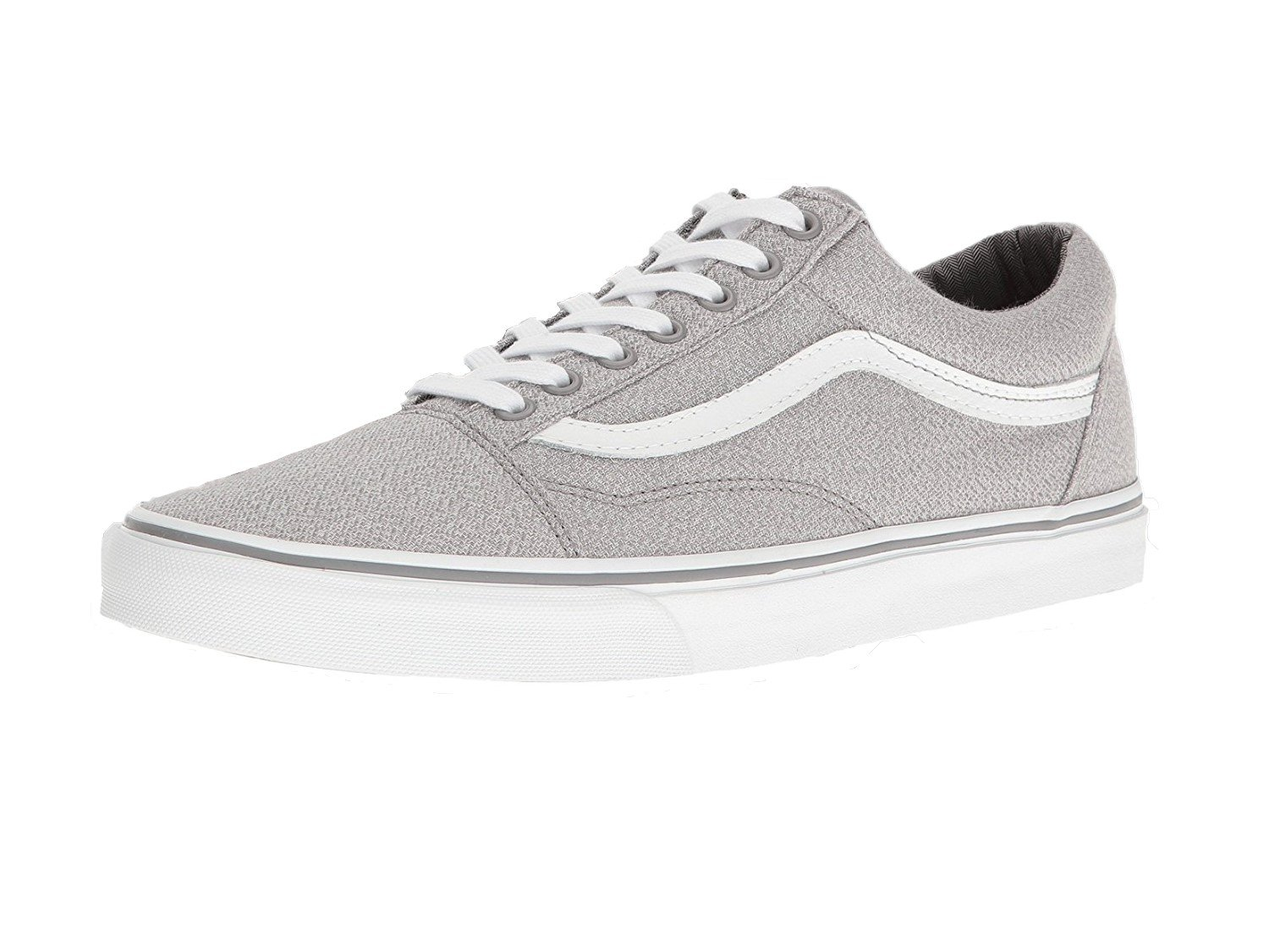 Vans Old Skool Unisex Adults' Low-Top Trainers B01I2B62FU 12 M US Women / 10.5 M US Men|(Suiting) Frost Grey/True White
