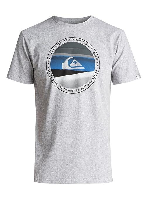 Quiksilver - Camiseta - Hombre - XS  Quiksilver  Amazon.es  Ropa y ... 23b33643e5d