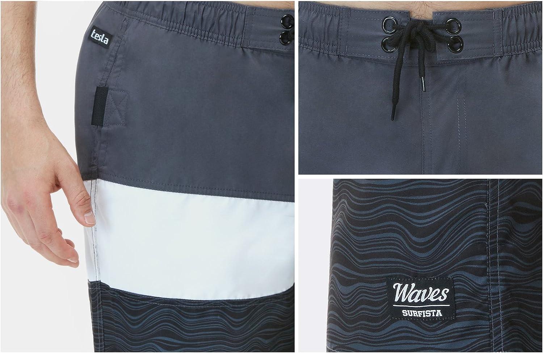 Tie Dye Mandala Mens Swim Trunks Quick Dry Board Shorts with Pockets Summer Swimsuit Beach Short