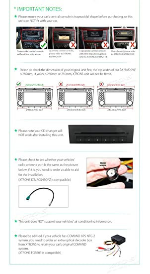 Amazon.com: XTRONS Android 8.1 7 inch Touch Display Car Stereo DVD Radio GPS Navigator with USB SD Port DVD Drive Bluetooth 5.0 Supports 4G 3G TPMS OBD Full ...