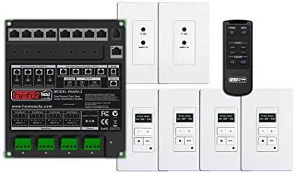 leviton 95a00 3 hi fi 2 4 zone 4 source kit for structured wiring rh amazon com Leviton Structured Wiring Cabinet Leviton Home Network Panel
