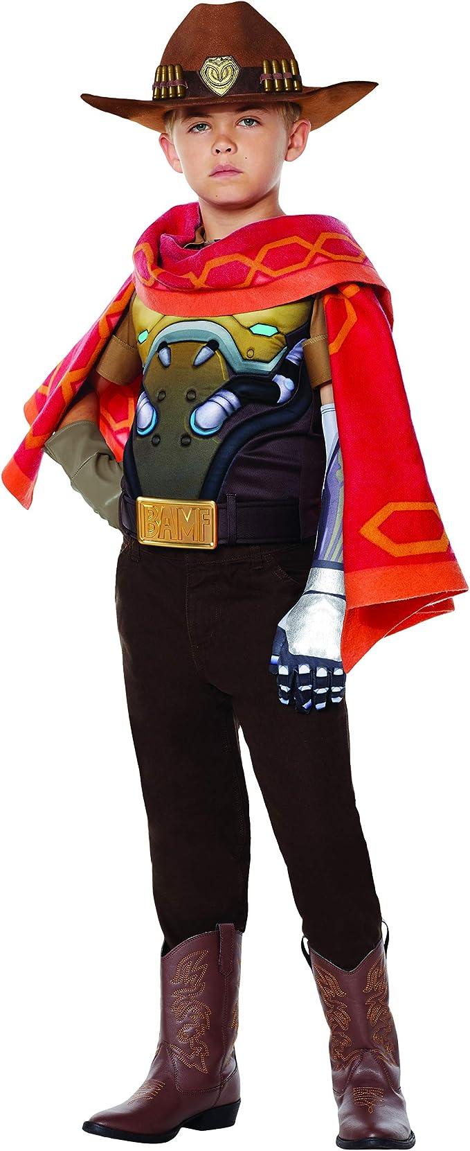 Mccree Halloween Costume 2020 Amazon.com: Kids McCree Overwatch Costume   Officially Licensed