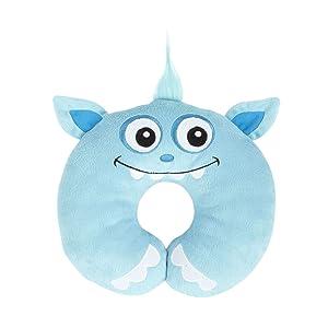 Nuby Comfort Neck Pillow (Blue)