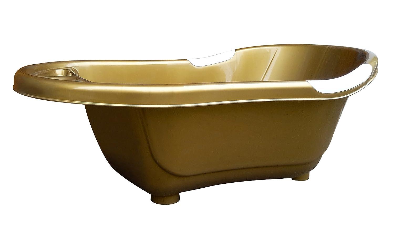 dBb Remond Solid Bathtub with Plug, Gold: Amazon.co.uk: Baby