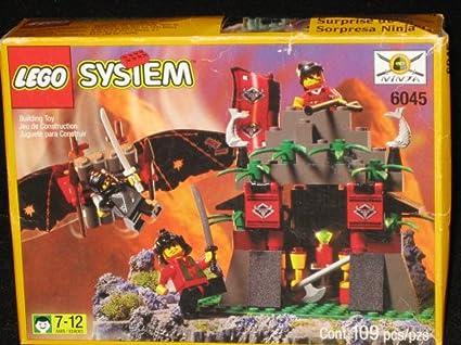 Amazon.com: LEGO sistema Ninja suprise 6045: Toys & Games
