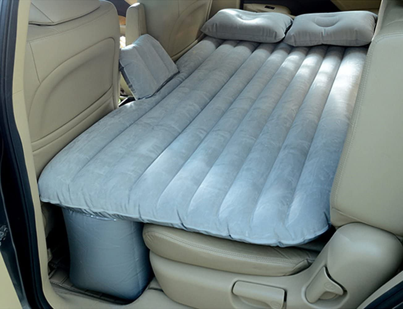 KXA Car Bed Car Travel Inflatable Bed Multi-function Self-driving Mattress