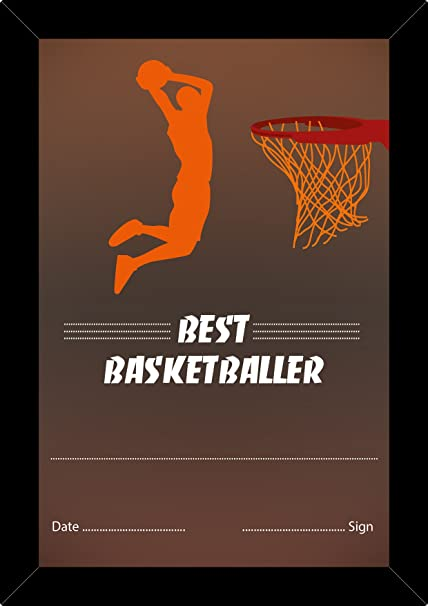 Buy Gift Certificates 4 u : Certificate for Being Best Basketball ...