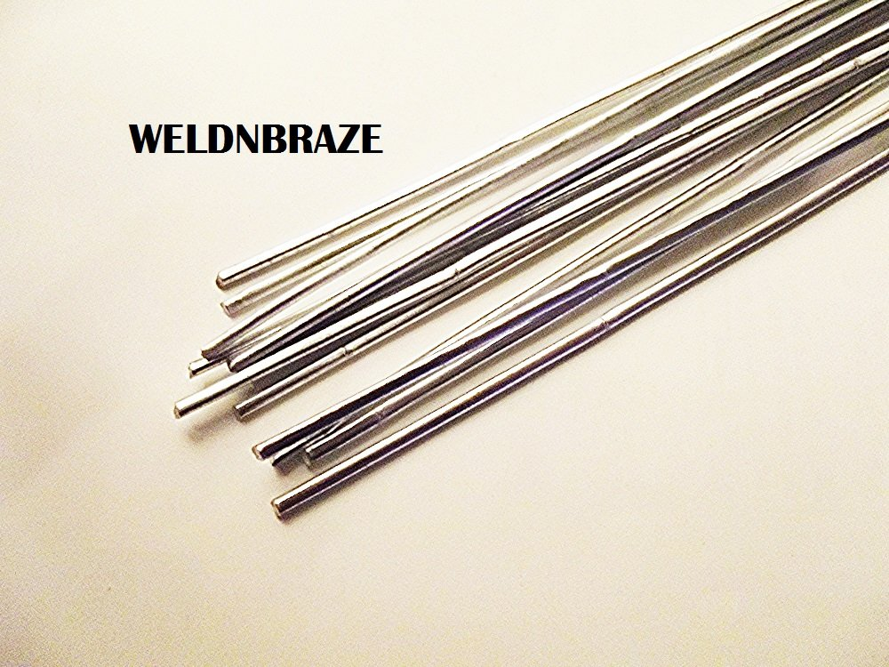 WELDNBRAZE Aluminium BRAZING Soldering Rod DIY Low Heat Propane, Butane, MAPP, OR OXY-Acetylene. Length 220MM