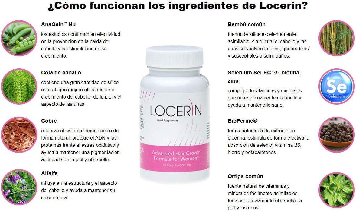LOCERIN Premium, contra la pérdida de cabello en las mujeres ...
