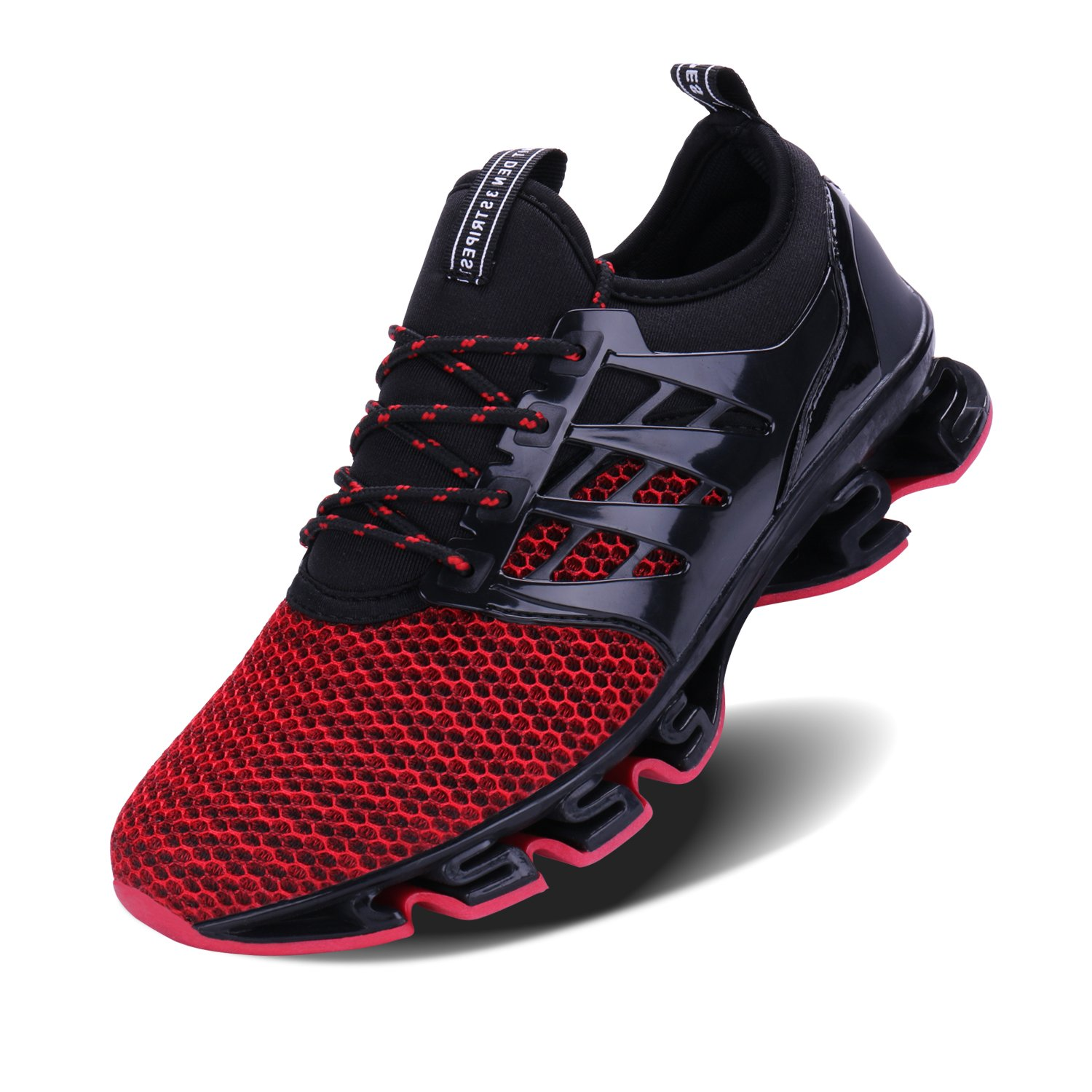 Mesh Cushioning Athletic Blade Bottom Sneakers for Men