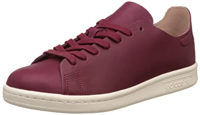 adidas Stan Smith Nude, Sneaker Bas Cou Femme, Rouge (Collegiate Burgundy/Off