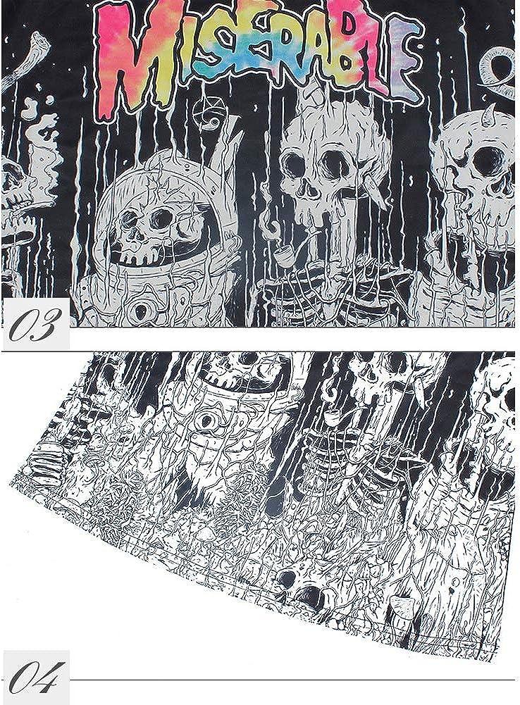 Morbuy Mujeres Camiseta de Tirantes G/ótica Sin Mangas dise/ño de Calaveras Tanque Superior cors/é Disfraz de Tank Tops Chaleco Chaleco