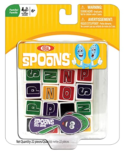 Amazon Ideal Spoons Dice Game Toys Games