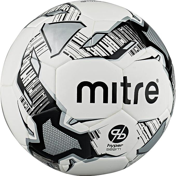 Mitre Balón de fútbol Hyperseam Calcio - Blanco/Negro/Plateado ...