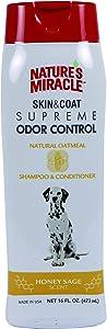 Nature's Miracle Supreme Oatmeal Odor Control Shampoo, 16 oz.