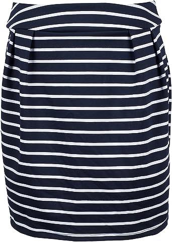 Zara para faldas traje de neopreno para mujer en color azul marino ...