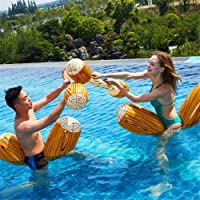 UAE2U 4pcs/set Inflatable Floating Row Toys-Swimming Pool Toys-Adult and children pool party games set-gladiator pool…