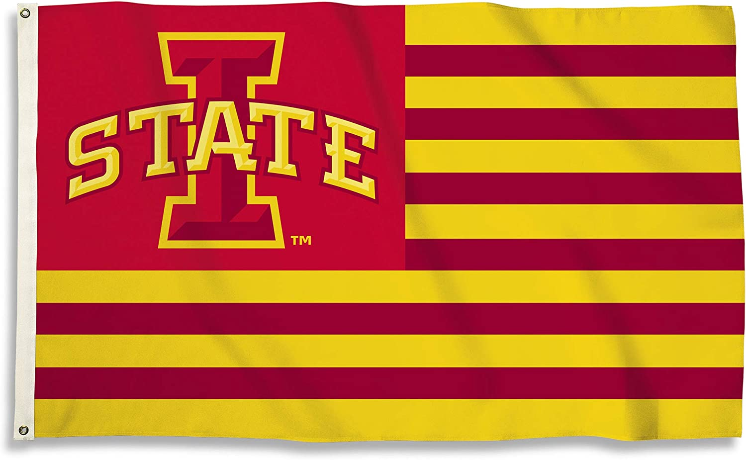 BSI NCAA College Iowa State Cyclones 3 X 5 Foot Flag with Grommets